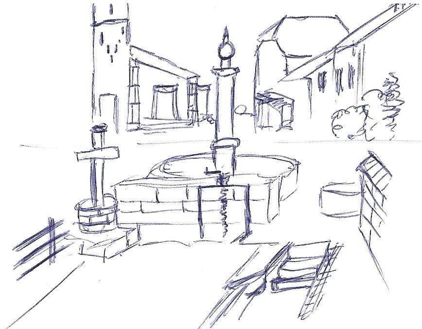 Concours de dessins dessine ton village - Village dessin ...